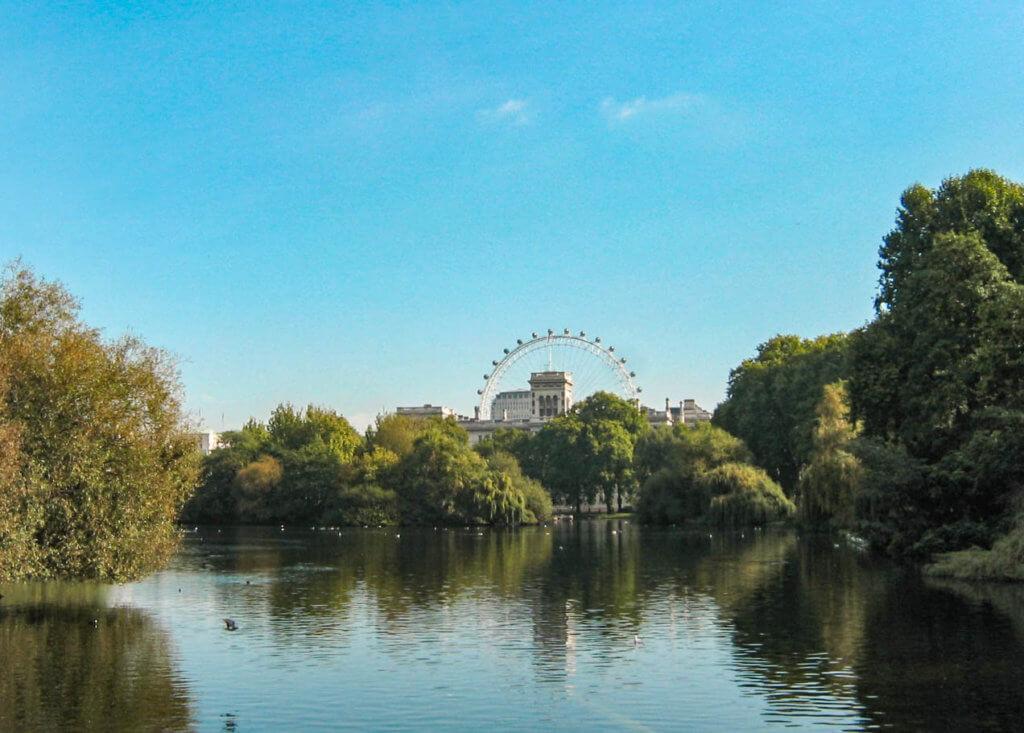 מסלול טיול בלונדון